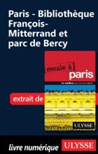 Paris - Bibliothèque François-Mitterrand Et Parc De Bercy