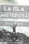 La isla misteriosa. Ilustrado Book Cover