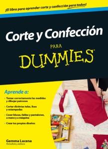 Corte y confección para Dummies Book Cover