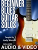 Beginner Blues Guitar Solos with Audio & Video