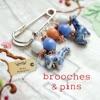 Brooches  Pins