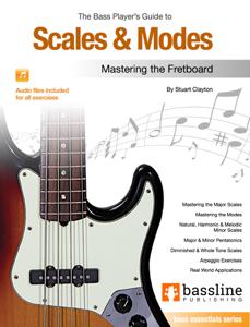 The Bass Player's Guide to Scales & Modes Copertina del libro