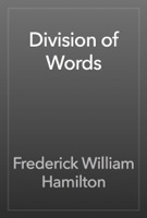 Division of Words