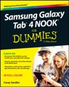 Samsung Galaxy Tab 4 NOOK For Dummies