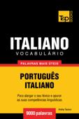 Vocabulário Português-Italiano: 9000 palavras mais úteis Book Cover