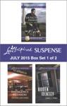 Love Inspired Suspense July 2015 - Box Set 1 Of 2