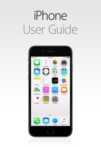 iPhone User Guide for iOS 8.4 E-Book Download
