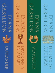 The Outlander Series Bundle: Books 1, 2, 3, and 4 Book Cover