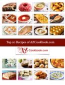 Top 20 Recipes of AZCookbook.com