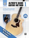 Alfreds Basic Guitar Method 1 With Audio And Video 3rd Edition