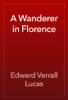 Edward Verrall Lucas - A Wanderer in Florence artwork