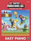 New Super Mario Bros Wii For Easy Piano