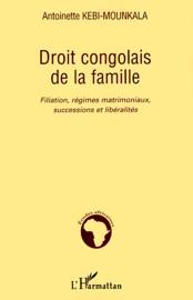 Droit Congolais De La Famille