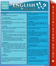 English Grammar & Punctuation (Speedy Study Guides)