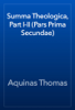 Aquinas Thomas - Summa Theologica, Part I-II (Pars Prima Secundae) artwork