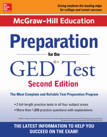 McGraw-Hill Education Preparation for the GED Test 2nd Edition book