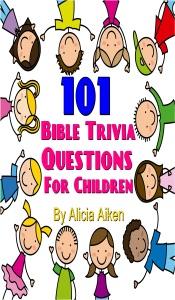 101 Bible Trivia Questions for Children Book Cover