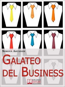Galateo del Business Book Cover