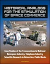 Historical Analogs For The Stimulation Of Space Commerce Case Studies Of The Transcontinental Railroad Aerospace Industry Telephone Industry Scientific Research In Antarctica Public Works
