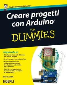 Creare progetti con Arduino for dummies Copertina del libro