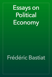 Essays on Political Economy book