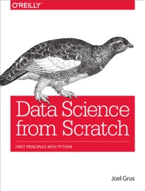 Data Science from Scratch book