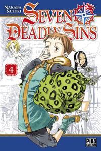 Seven Deadly Sins T04 La couverture du livre martien