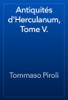 Tommaso Piroli - Antiquités d'Herculanum, Tome V. artwork