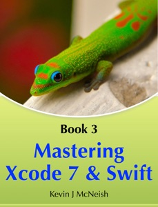 Mastering Xcode 7 and Swift Book Cover