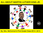 All About Martin Luther King Jr