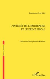 L'intérêt de l'entreprise et le droit fiscal