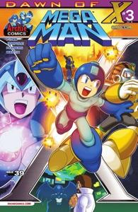 Mega Man #39 Book Cover