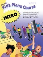 Alfred's Kid's Piano Course - Intro