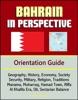 Bahrain In Perspective: Orientation Guide: Geography, History, Economy, Society, Security, Military, Religion, Traditions, Manama, Muharraq, Hamad Town, Riffa, Al Khalifa Era, Oil, Sectarian Balance