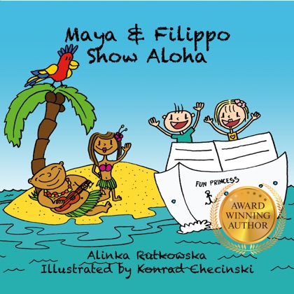 Maya & Filippo Show Aloha book cover