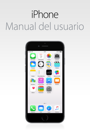 Manual del usuario del iPhone para iOS 8.1 book