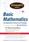 Schaums Outline Of Basic Mathematics With Applications To Science And Technology 2ed
