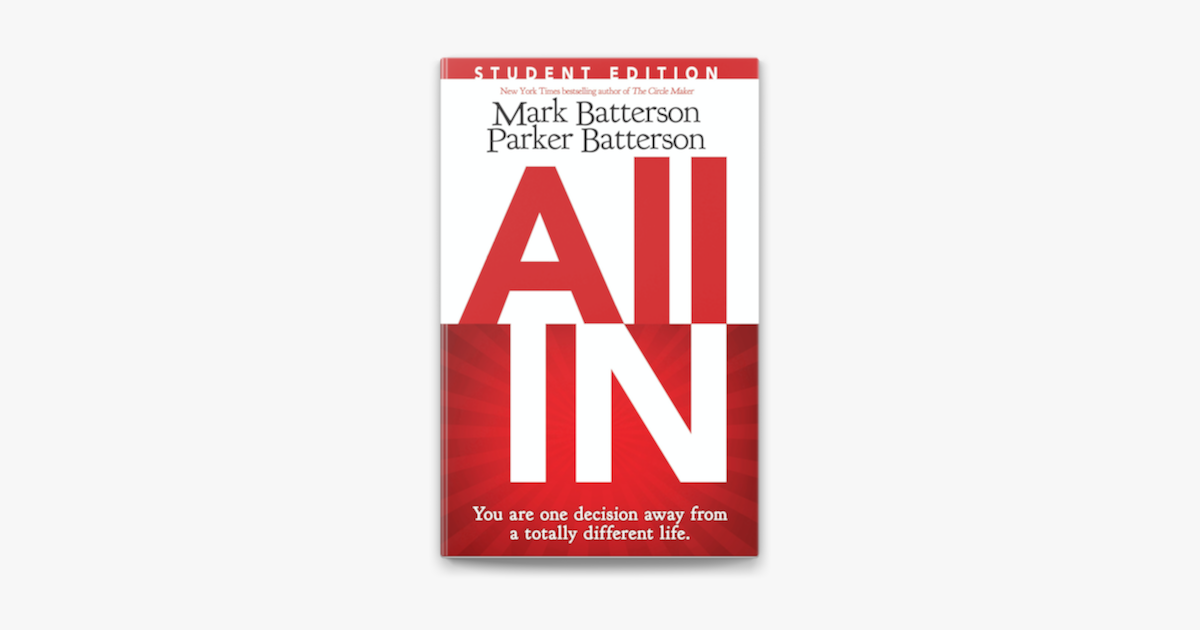 All In Student Edition - Mark Batterson