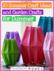 Prime Publishing - 10 Summer Craft Ideas and Garden Crafts for Summer artwork