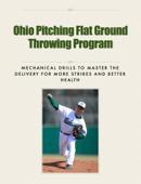 Ohio Pitching Flat Ground Throwing Program