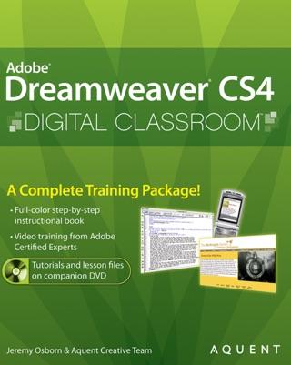Dreamweaver CS5 Digital Classroom, (Covers CS5 and CS5.5)