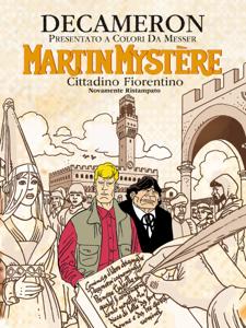 Martin Mystère - Decameron Libro Cover