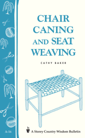 Chair Caning and Seat Weaving book