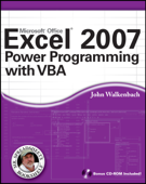 Excel 2007 Power Programming with VBA