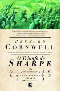 O triunfo de Sharpe - As aventuras de um soldado nas Guerras Napoleônicas Book Cover