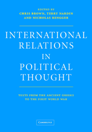 International Relations in Political Thought book