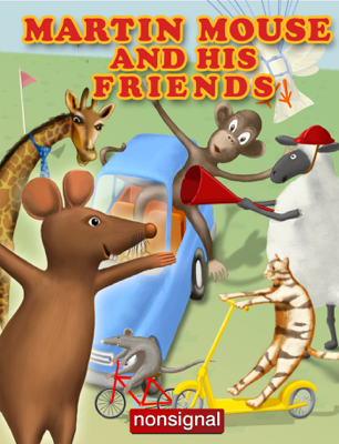 Martin Mouse and His Friends - Mikko Karppanen book