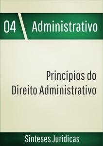 Princípios do direito administrativo Book Cover