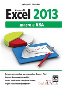 Excel 2013 Macro e VBA Copertina del libro