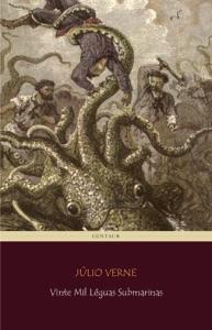 Vinte Mil Léguas Submarinas Book Cover
